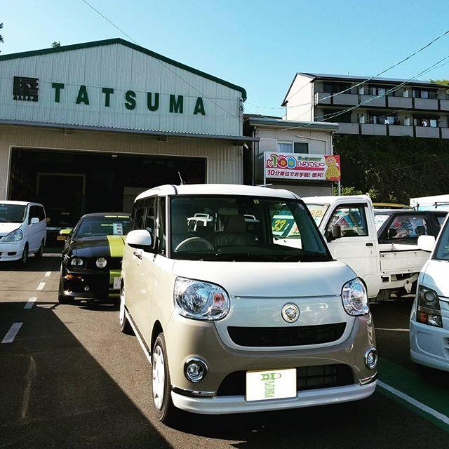 【Instagram】#daihatsu #canbus #キャンバス #新車 #かわいい #kawaii #納車 #準備 #高知 #株式会社tatsuma #車が変われば人生が変わる #車を楽しむ人は人生を楽しむ人 #car #produce #shin