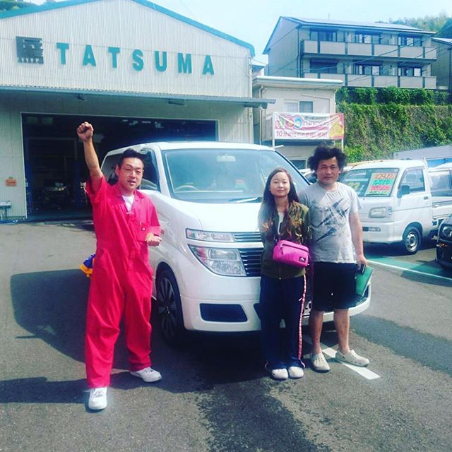 【Instagram】#nissan #エルグランド #ありがとうございます #納車 #株式会社tatsuma #車が変われば人生が変わる #車を楽しむ人は人生を楽しむ人 #高知中古車 #自動車 #車 #car #produce #shin #高知